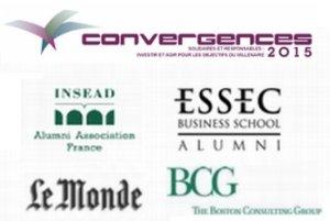 Convergences 2015 INSEAD, ESSEC, Le Monde, BCG