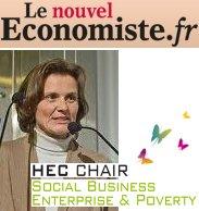 Nouvel économiste Bénédicte Faivre Tavignot HEC