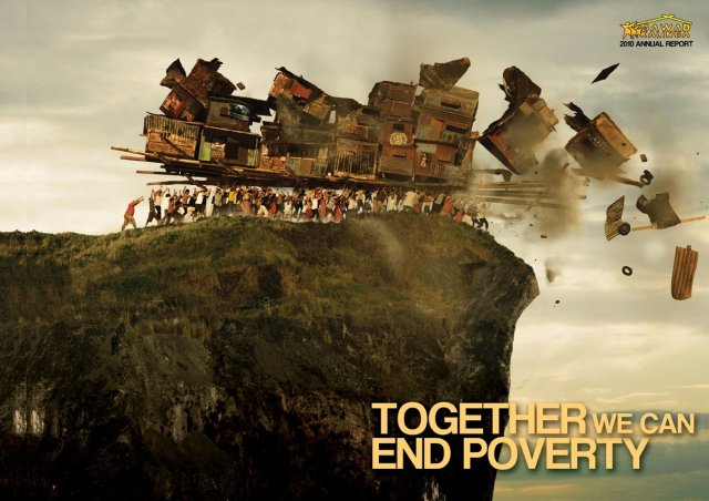 Together we can end poverty, Gawad Kalinga