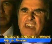 Colère d'Augusto Pinochet Hiriart