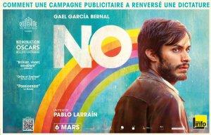 Film NO de Pablo Larrain avec Gael Garcia Bernal