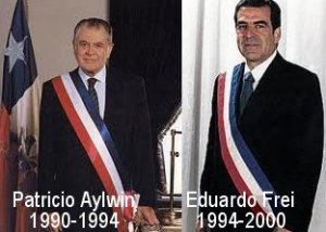 Patricio Aylwin Eduardo Frei