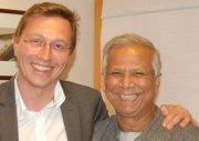 Rencontre inspirante Muhamad Yunus & Nicolas Cordier