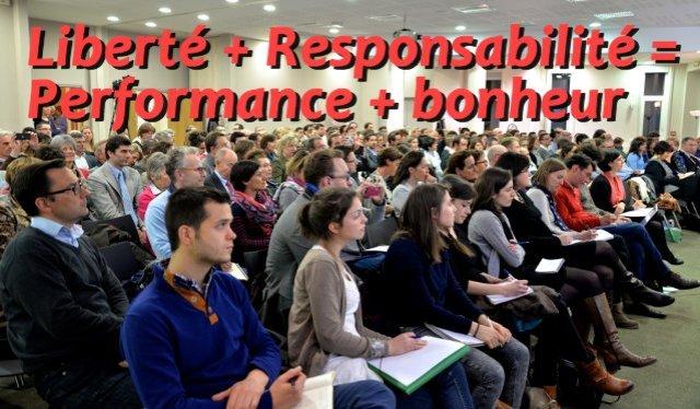 Liberté + Confiance = Performance + Bonheur, Nicolas Cordier avec Laurence Vanhée et Frédéric Lippi