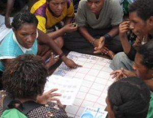 Réunion communauté locale