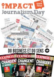 Impact Journalism Day et L'Express Du Business et du sens