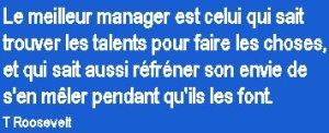 Le meilleur manager...