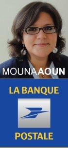 Mouna Aoun Banque postale